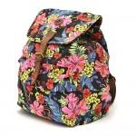mochila flores